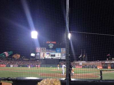 AT&T Park section DC 115