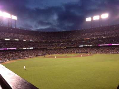 AT&T Park section COORS SB