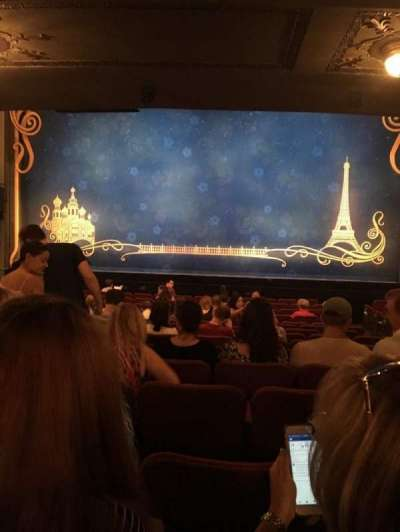 Broadhurst Theatre, section: Orch, row: P, seat: 112