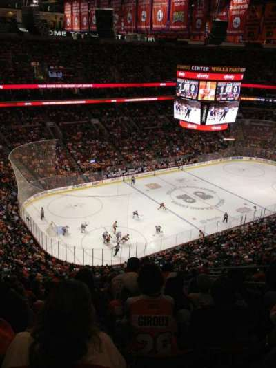 Wells Fargo Center section 210