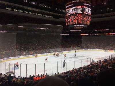 Wells Fargo Center section 122