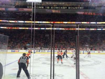 Wells Fargo Center section 113