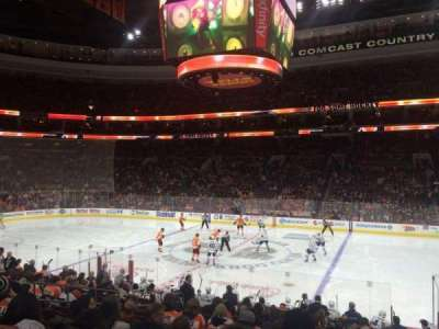 Wells Fargo Center section 102