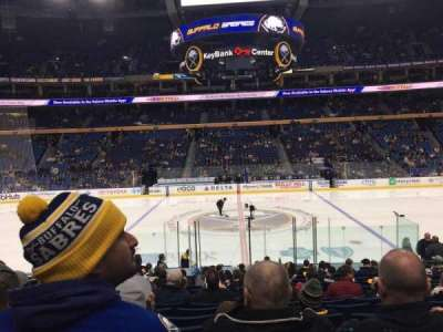 KeyBank Center, section: 117, row: 17, seat: 12
