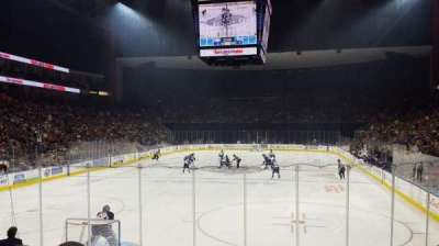 Jacksonville Veterans Memorial Arena, section: 108, row: K, seat: 4