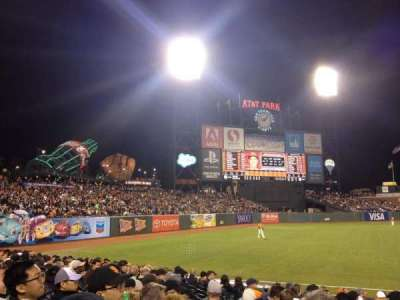 AT&T Park, section: 129, row: 13, seat: 7