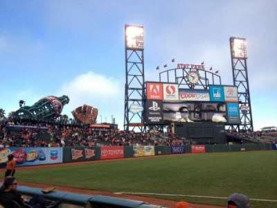 AT&T Park, section: 129, row: 4, seat: 12