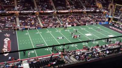 Quicken Loans Arena, section: 223, row: 1, seat: 15