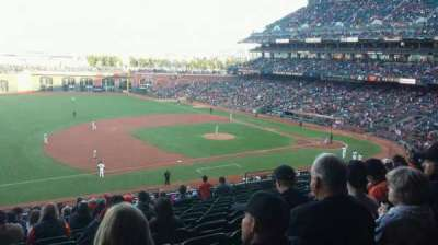 AT&T Park section CL225