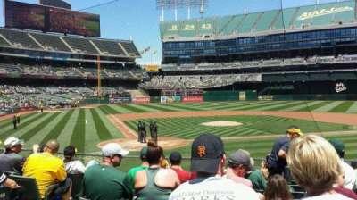 Oakland Alameda Coliseum, section: 115, row: 19, seat: 13