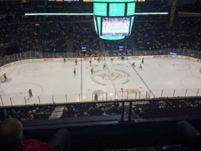 Bridgestone Arena, section: 309, row: C, seat: 14