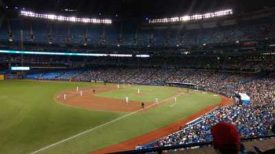 Rogers Centre, section: 236R, row: 3, seat: 8