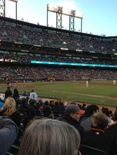 AT&T Park section LB106