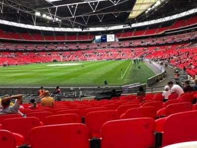 Wembley Stadium section 108