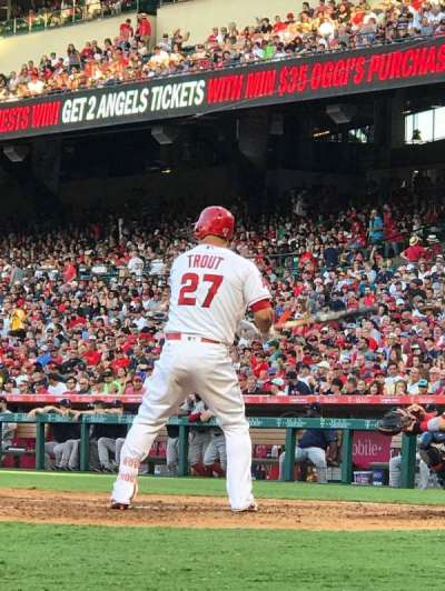 Angel Stadium, section: Dugout Suite 2, row: A, seat: 10
