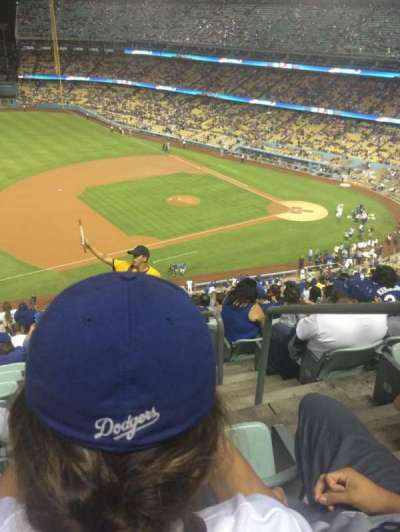 DODGER STADIUM section 27RS