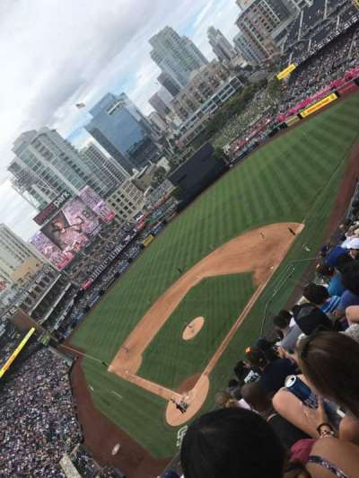 PETCO Park, section: 305, row: 18, seat: 12