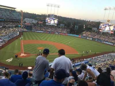 Dodger Stadium, section: 8Rs, row: G, seat: 3