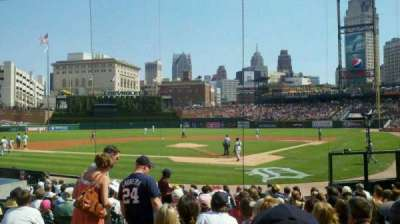 Comerica Park, section: 129, row: 19