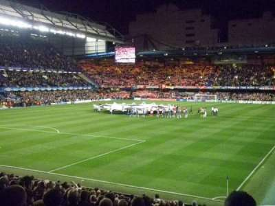 Stamford Bridge section Matthew Harding Lower