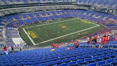 M&T Bank Stadium, section: 505, row: 31, seat: 13