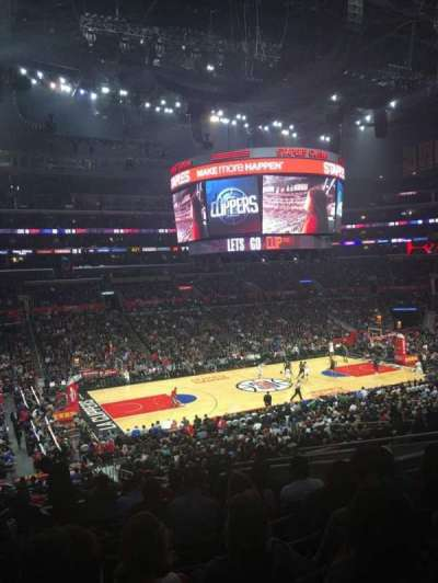 Staples Center, section: PR7, row: 12, seat: 9