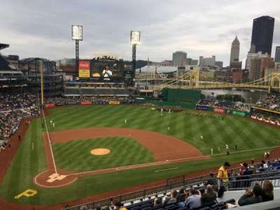PNC Park, section: 312, row: D, seat: 7