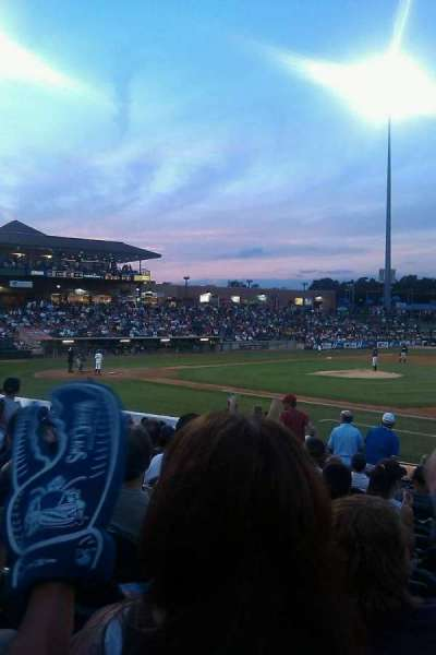 First Energy Park, section: 103, row: 7