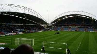 John Smith's Stadium, row: x, seat: 29