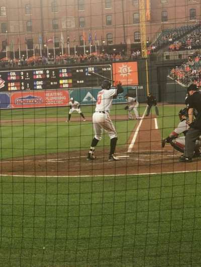 Oriole Park at Camden Yards, section: 46, row: 2, seat: 7