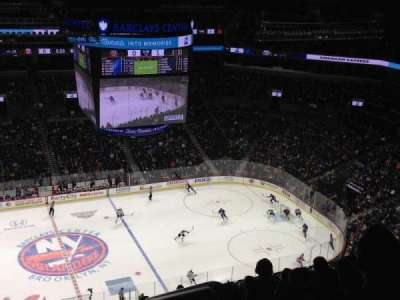 Barclays Center, section: 226, row: 16, seat: 1