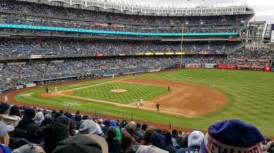 Yankee Stadium, section: 214A, row: 13, seat: 01