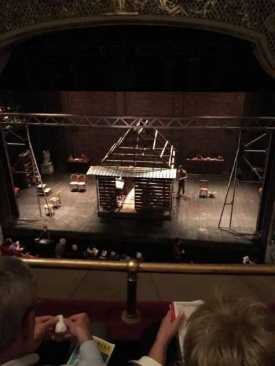 Cort Theatre, section: Balcony, row: B, seat: 112