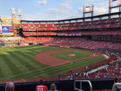 Busch Stadium, section: 263, row: 6, seat: 1