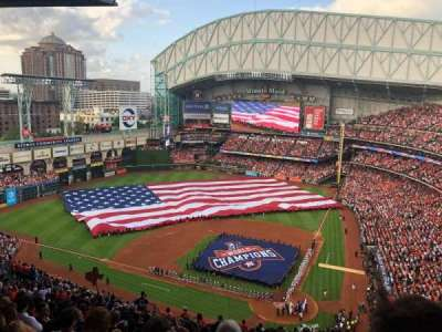 Minute Maid Park, section: 416, row: 17, seat: 20