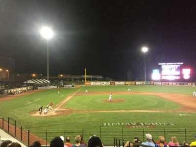 Jimmy John's Field, section: 102, row: 10, seat: 1