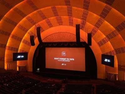 Radio City Music Hall, section: 2nd Mezzanine 2, row: A, seat: 211