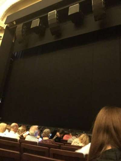 Hudson Theatre, section: Orchestra, row: H, seat: 121
