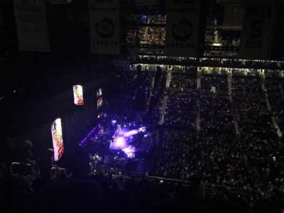 Barclays Center, section: 225, row: 18, seat: 19