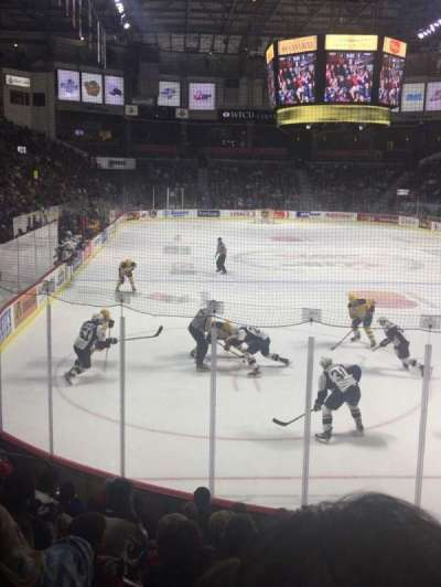 WFCU Centre, section: 110, row: I, seat: 5