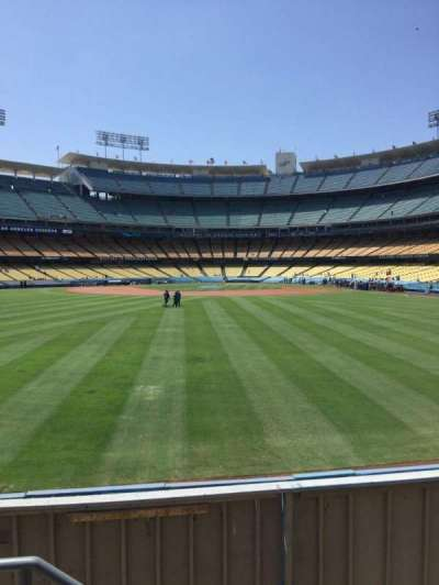 Dodger Stadium, section: 309PL, row: B, seat: 18