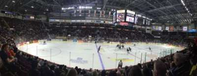 WFCU Centre, section: 105, row: I, seat: 6