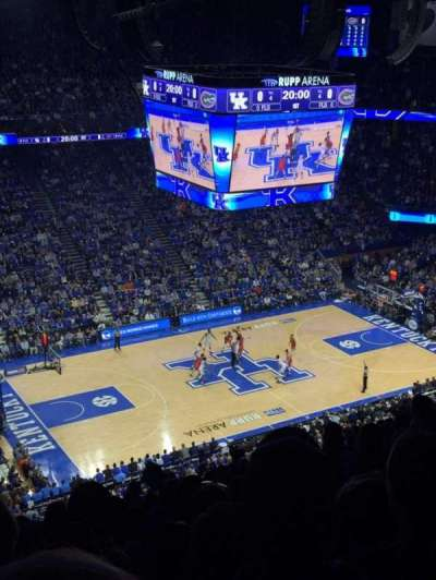 Rupp Arena, section: 234, row: W, seat: 6