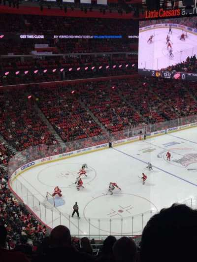 Little Caesars Arena, section: M33, row: 5, seat: 13