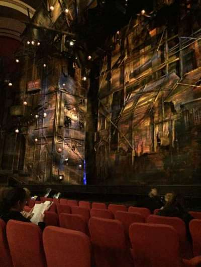 Broadway Theatre - 53rd Street, section: Orch, row: F, seat: 1