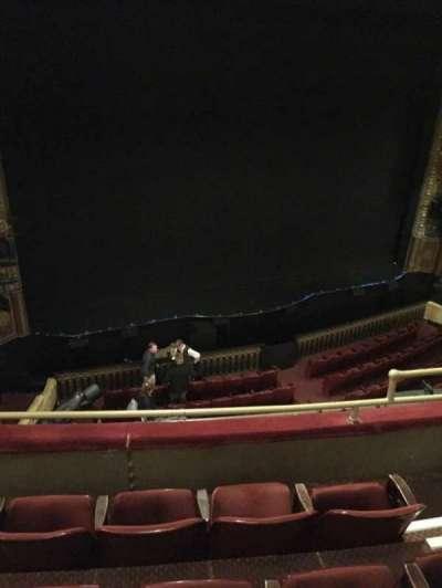 Palace Theatre (Broadway), section: Mezz, row: C, seat: 7