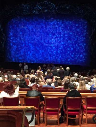 Au-Rene Theatre at the Broward Center, section: Orch, row: FF, seat: 2