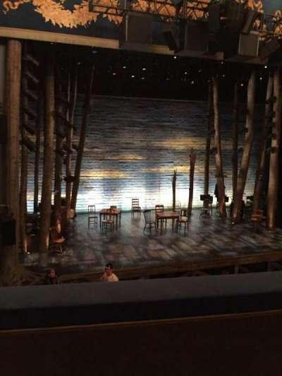 Gerald Schoenfeld Theatre, section: Mezz, row: B, seat: 3