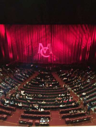 The Colosseum At Caesars Palace, section: Mezz2, row: A, seat: 403