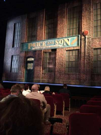 Al Hirschfeld Theatre, section: Orch, row: H, seat: 4